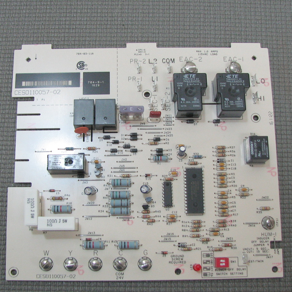 Carrier Main Circuit Board CESO110057-02