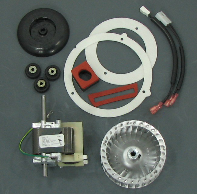 Carrier Furnace Parts >> Carrier Draft Inducer Rebuild Kit 318984-753 KIT [318984753KIT] - $186.00 | Shortys HVAC Supplies