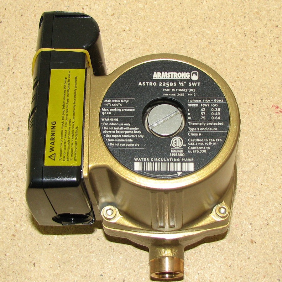 Armstrong Astro 225BS-1/2 Pump 110223-303