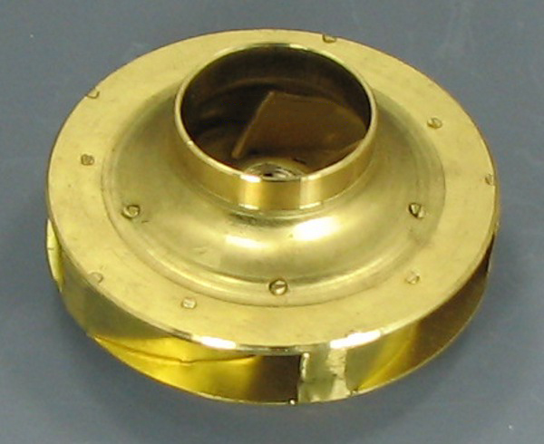 "Armstrong 2B1050 4.5"" Bronze Impeller"