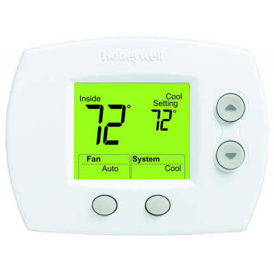 Honeywell FocusPro 5000 Large Screen Thermostat TH5110D1022