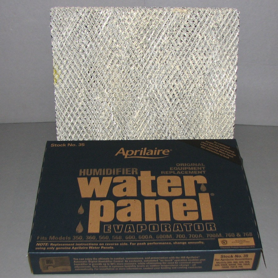 Aprilaire Stock No 35 Water Panel