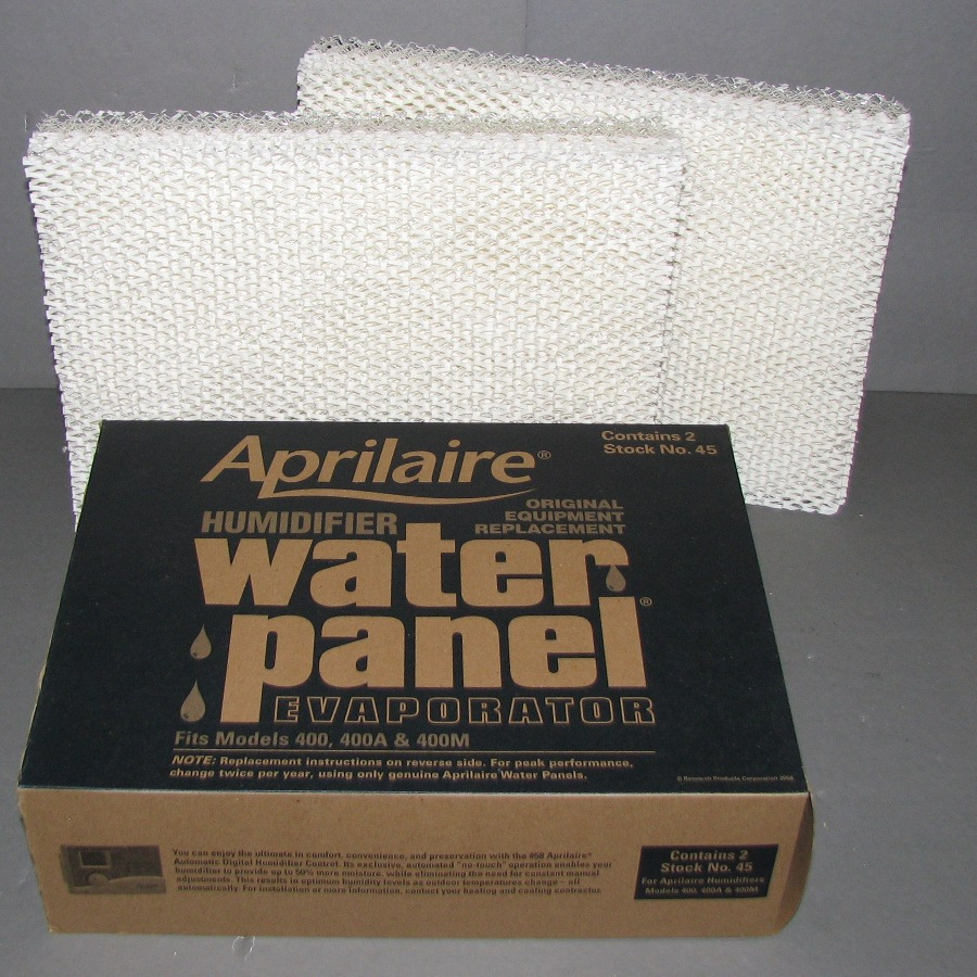 Aprilaire Stock No 45 Water Panel Package of 2