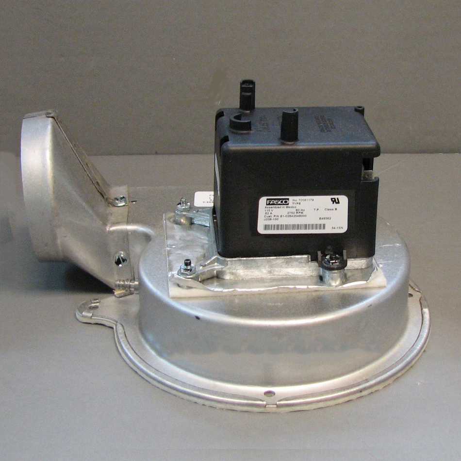 York / Coleman Draft Inducer Assembly S1-02642548000