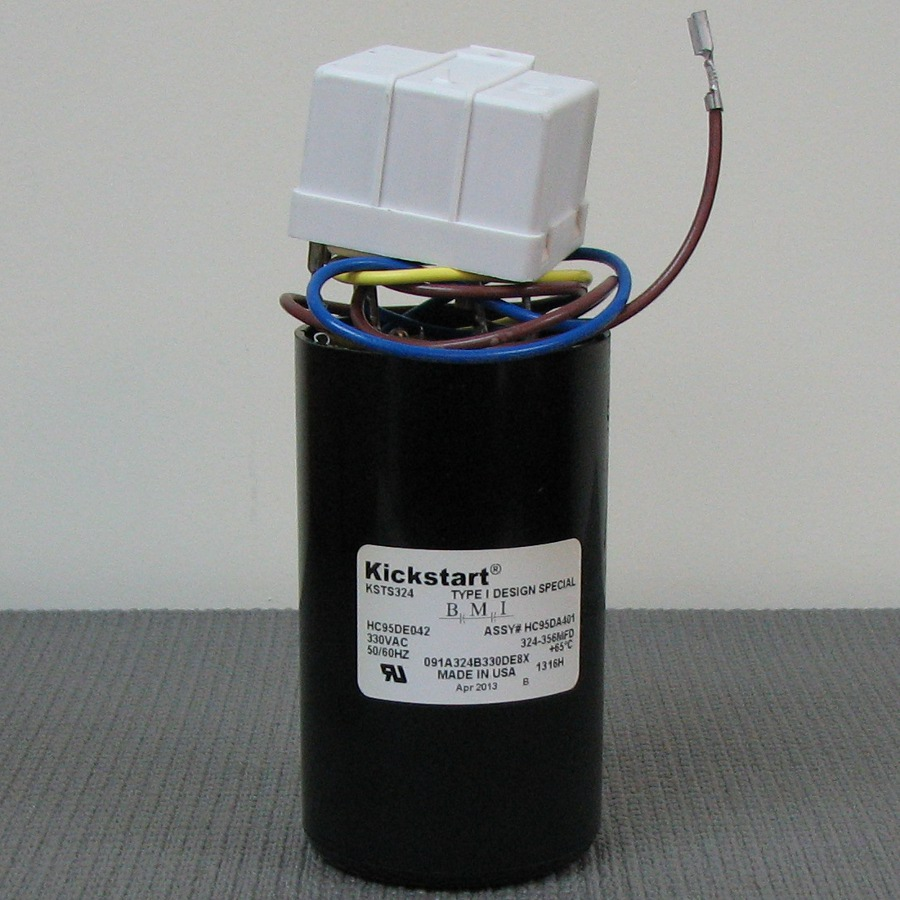 Carrier Start Relay and Capacitor Assembly HC95DA401