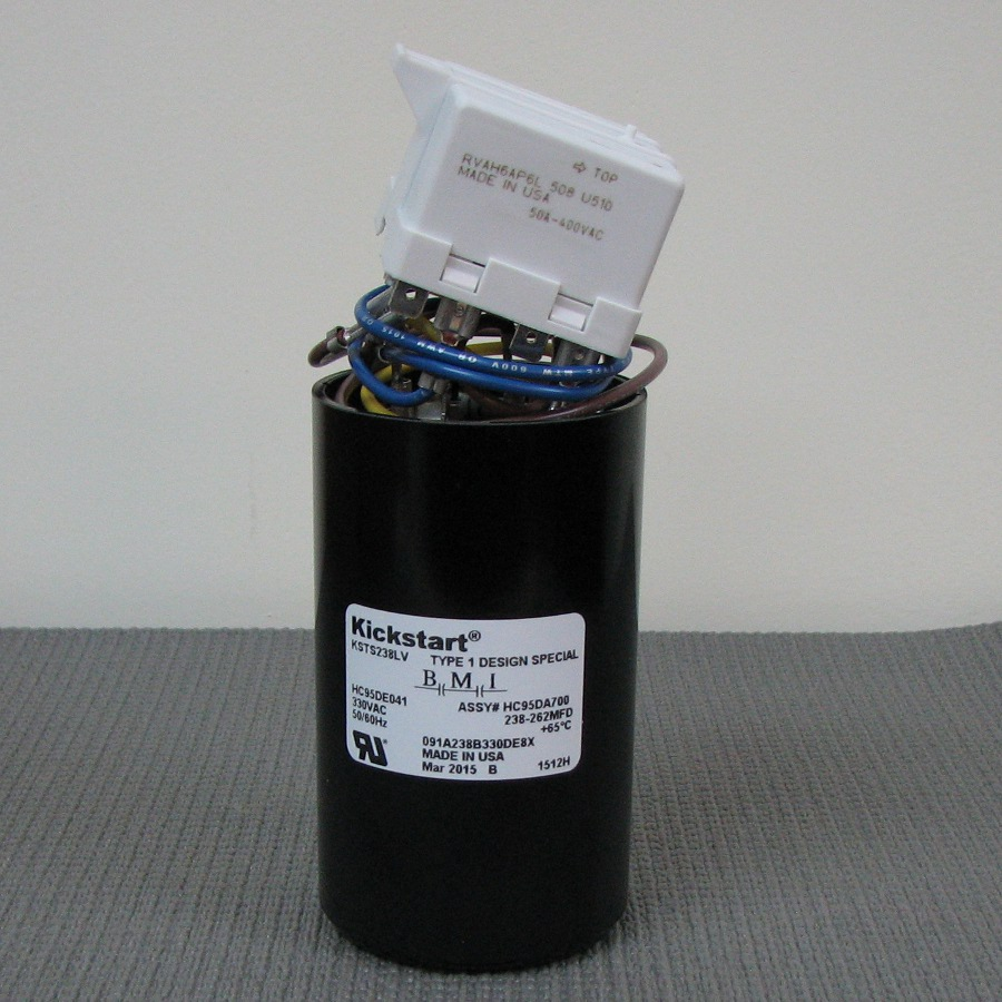 Carrier Start Relay and Capacitor Assembly HC95DA700