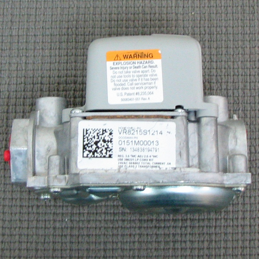 Goodman Gas Valve Shortys Hvac Supplies Janitrol Oem 2stage Inducer Circuit Board Automatic Ignition Natural B1282628s