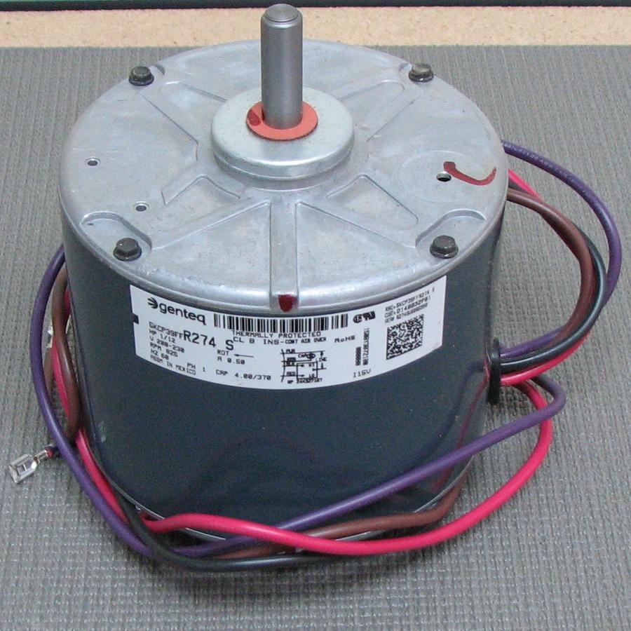 Trane condenser fan motor mot05539 mot05539 for Trane fan motor replacement cost