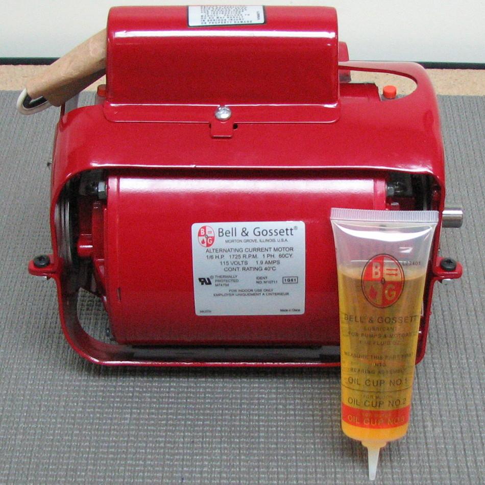 Bell gossett pump motor 111061 111061 for Bell gossett motors