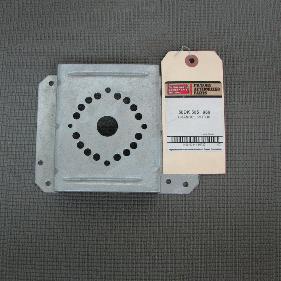 Carrier Draft Inducer Motor Channel 50DK505989