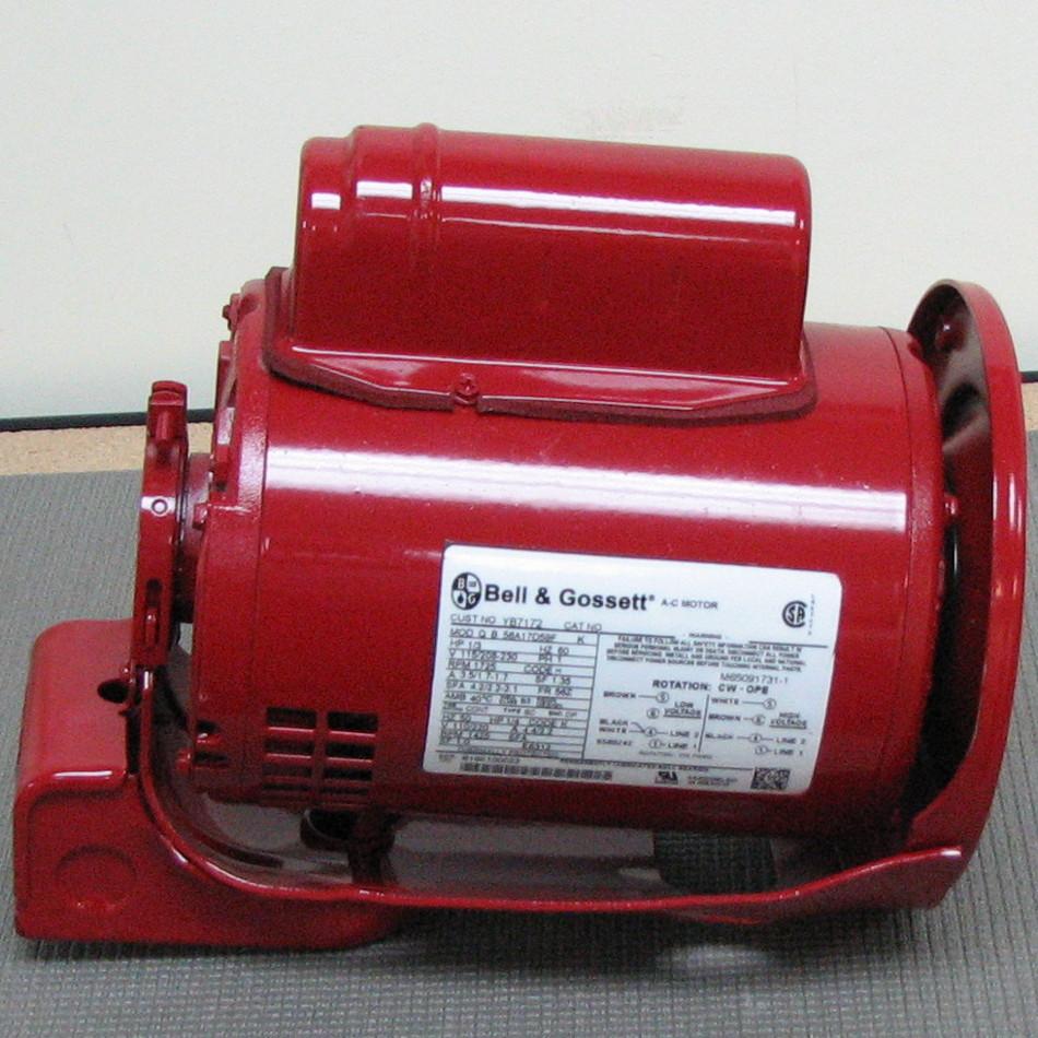 Bell gossett pump motor 169226 169226 for Bell gossett motors