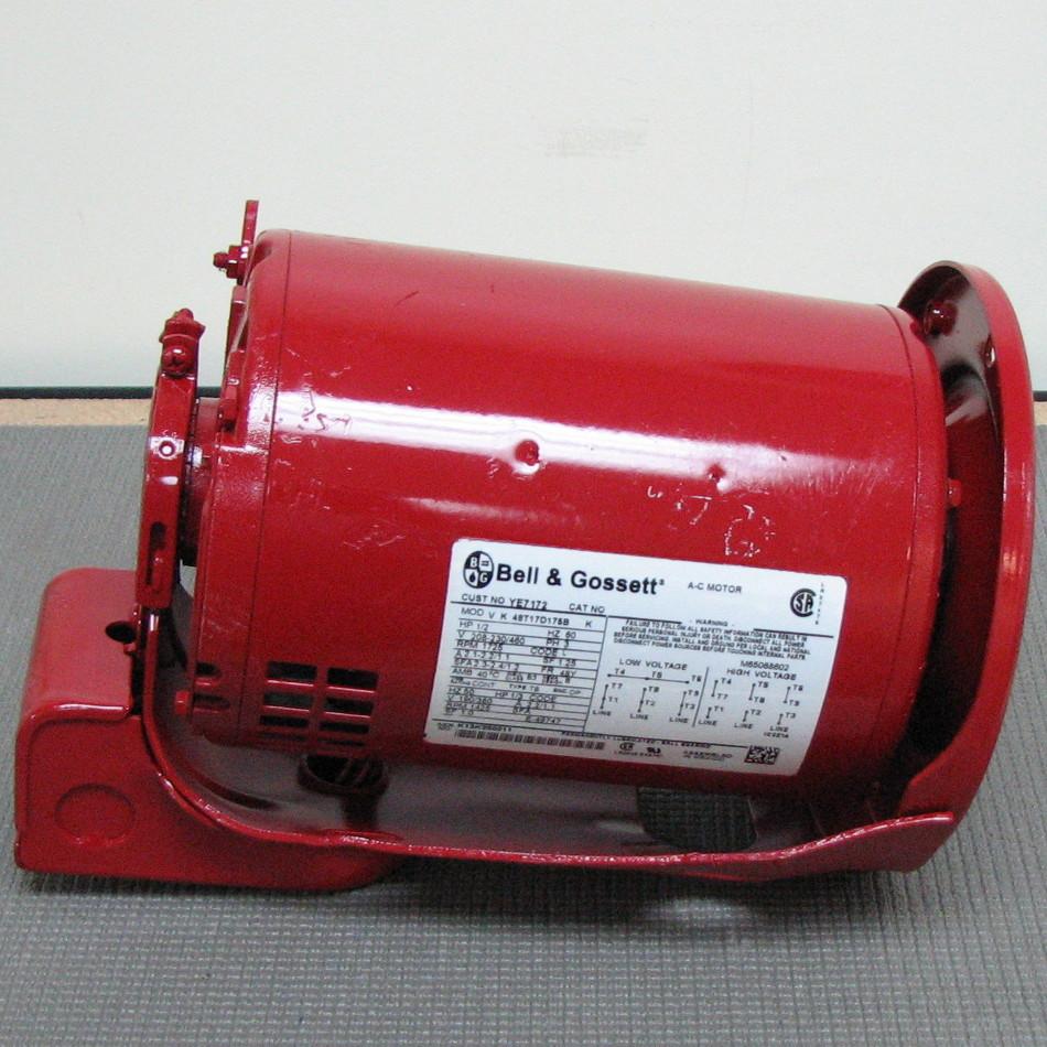 Bell gossett pump motor 169229 169229 for Bell gossett motors