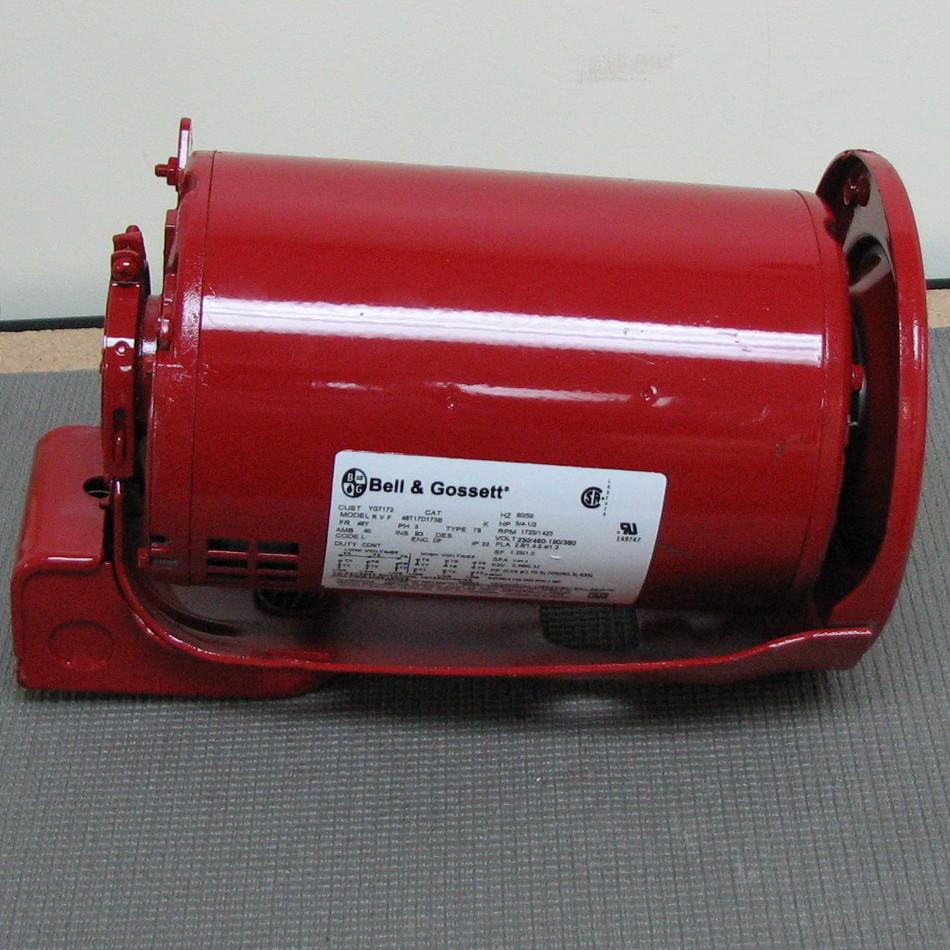 Bell gossett pump motor 169231 169231 for Bell gossett motors
