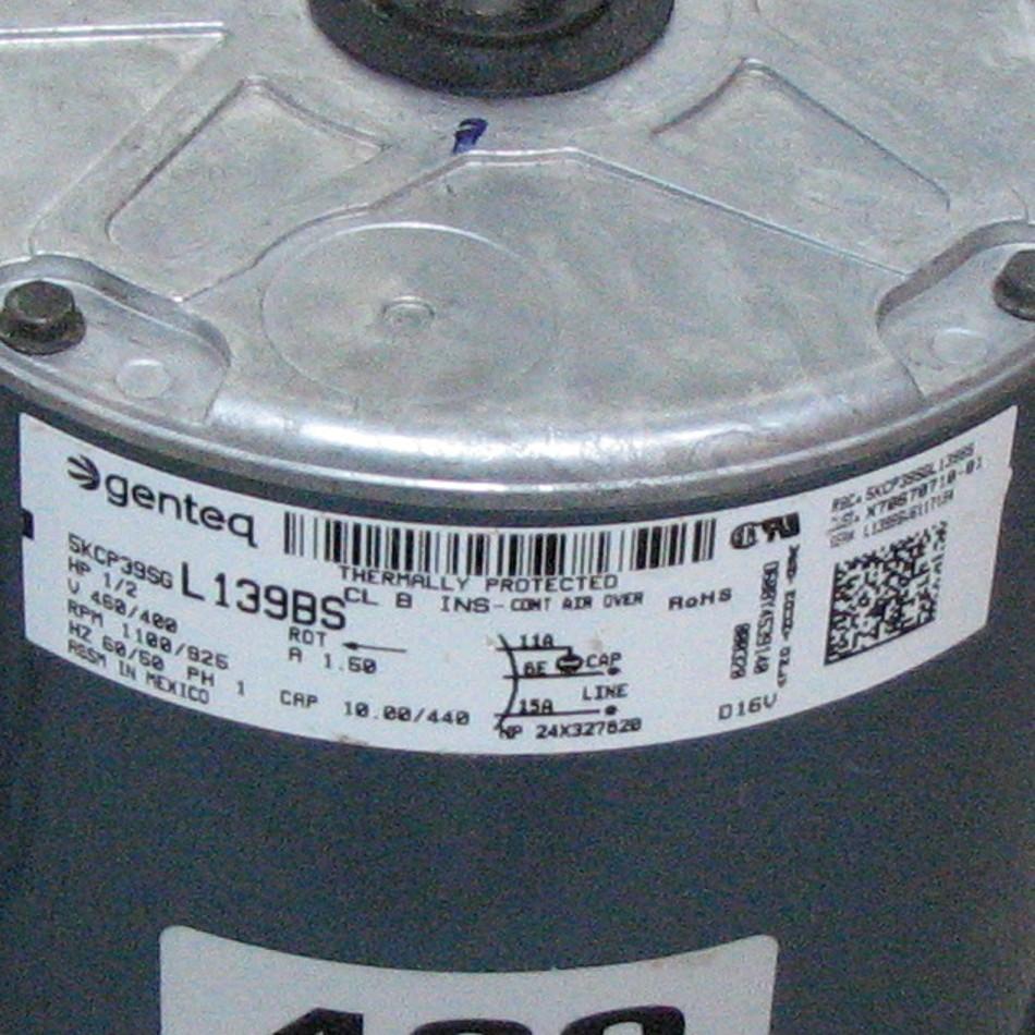 Trane Condenser Fan Motor MOT03769 [MOT03769] - $445.00 | Shortys ...