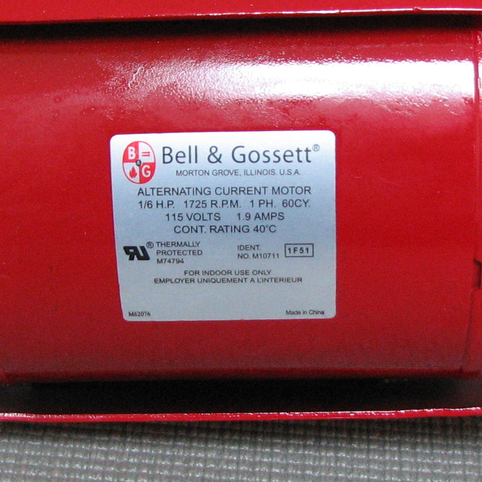 Bell & Gossett Model HV NFI Circulator