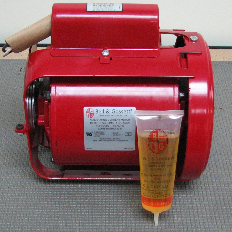 Bell gossett pump motor 111031 111031 for Bell gossett motors