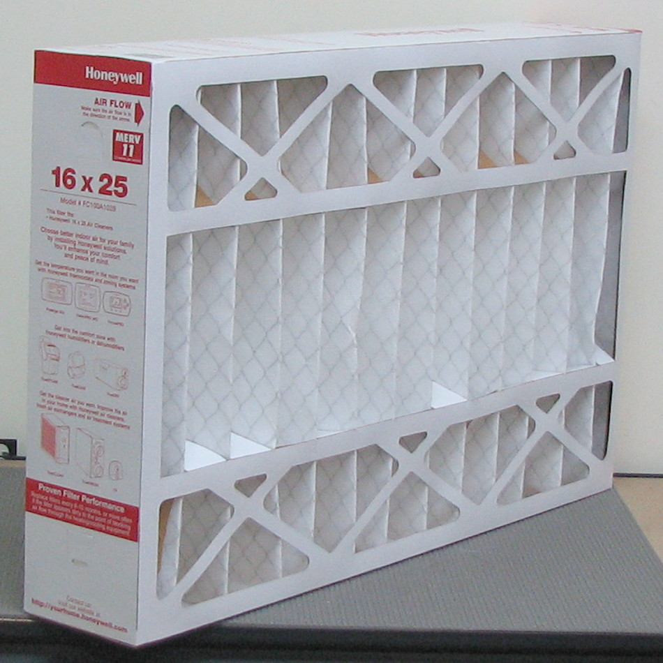 Box of 5 Honeywell FC100A1029 Air Filters