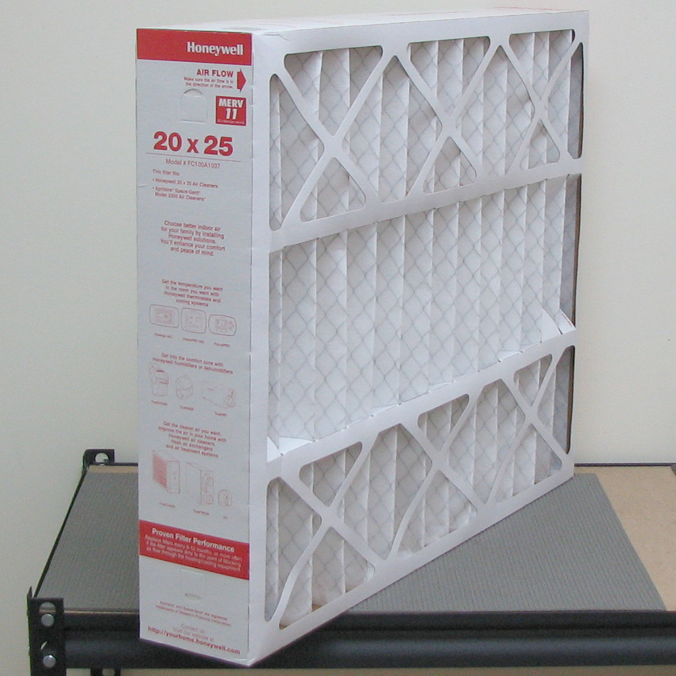 Box of 5 Honeywell FC100A1037 Air Filters