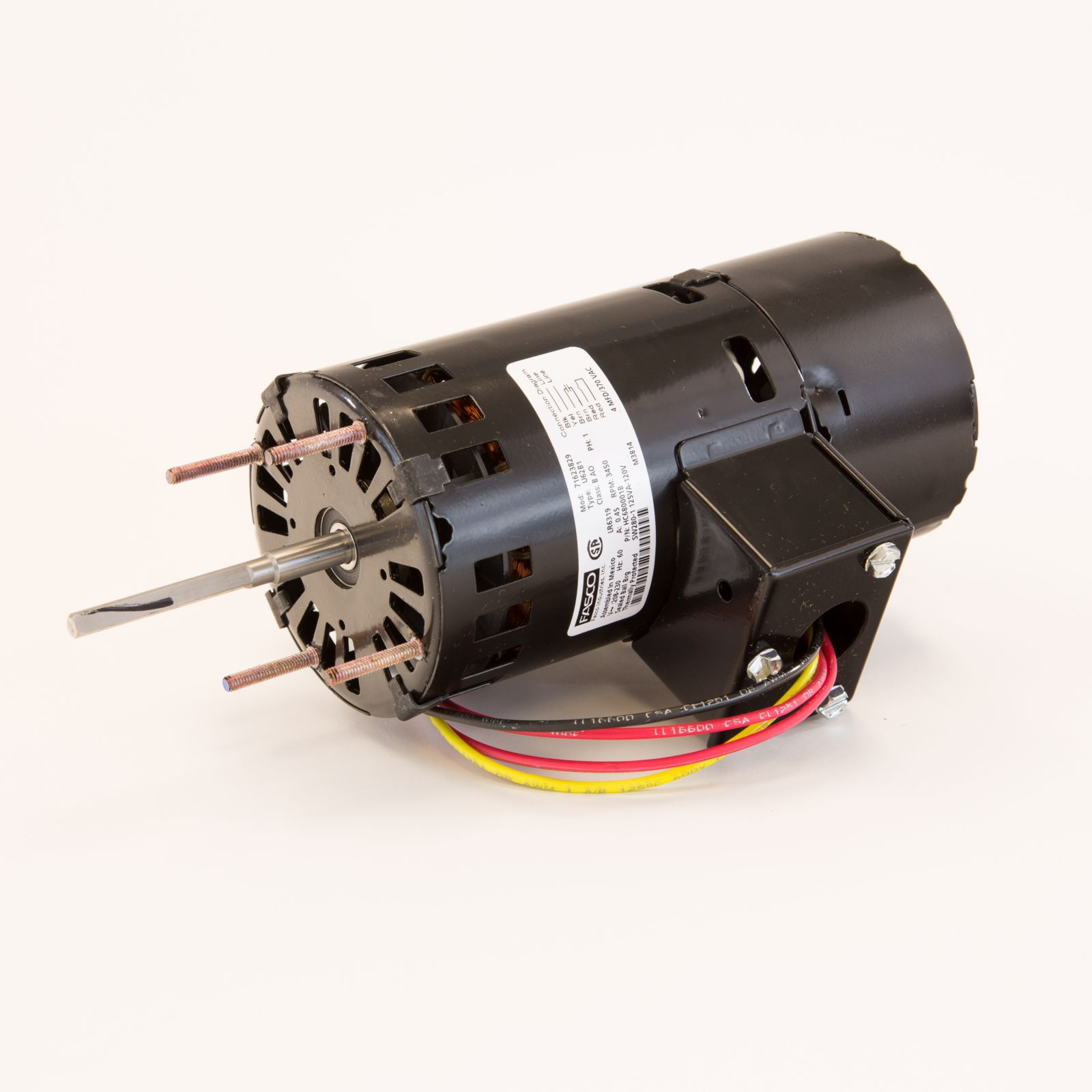 Inducer Motor Purpose