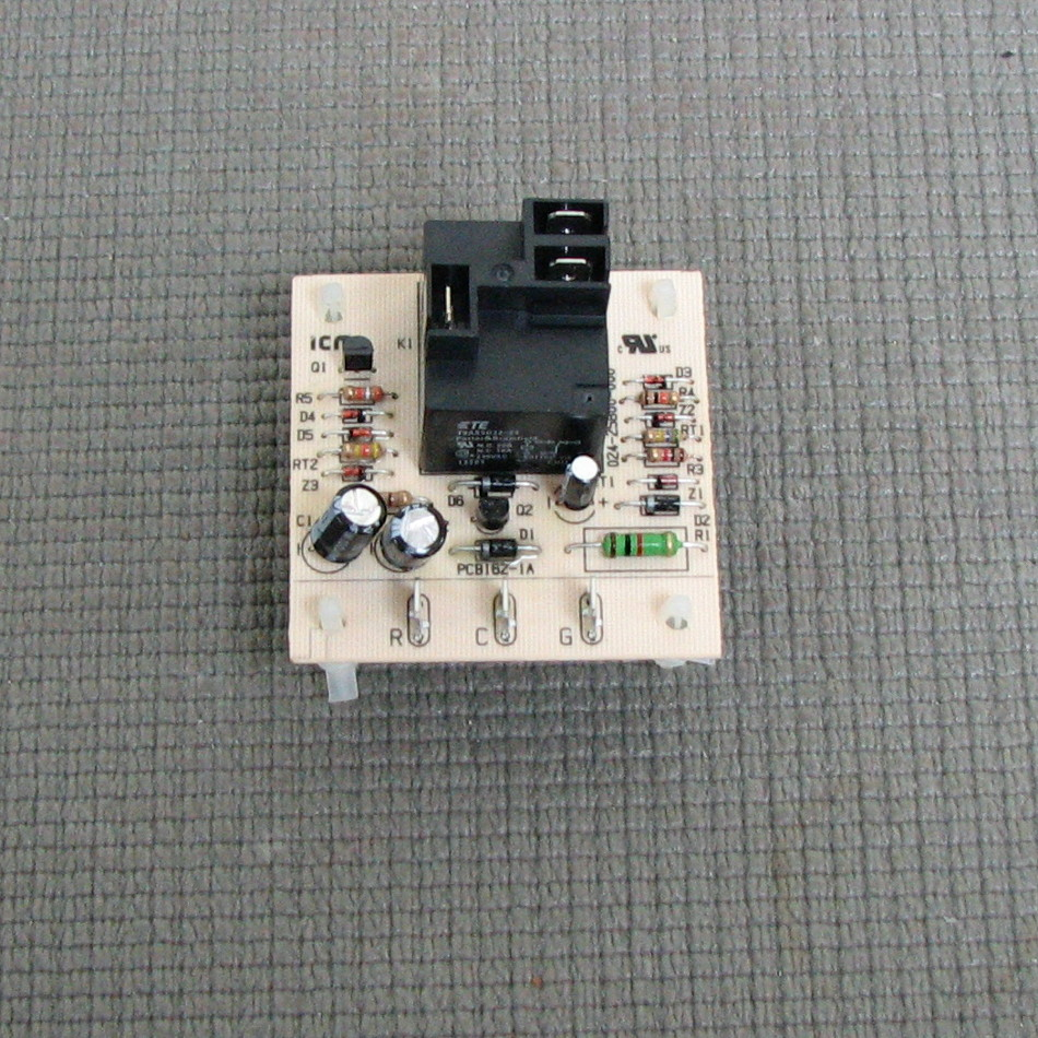 York Fan Relay Circuit Board S1-0242580070