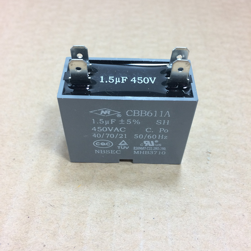 Carrier / Gree PTAC Fan Motor Capacitor 33010020