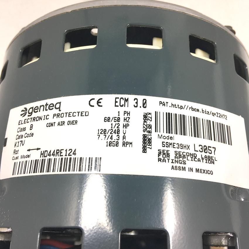 Carrier ECM Blower Motor 58MV660006 | Shortys HVAC Supplies