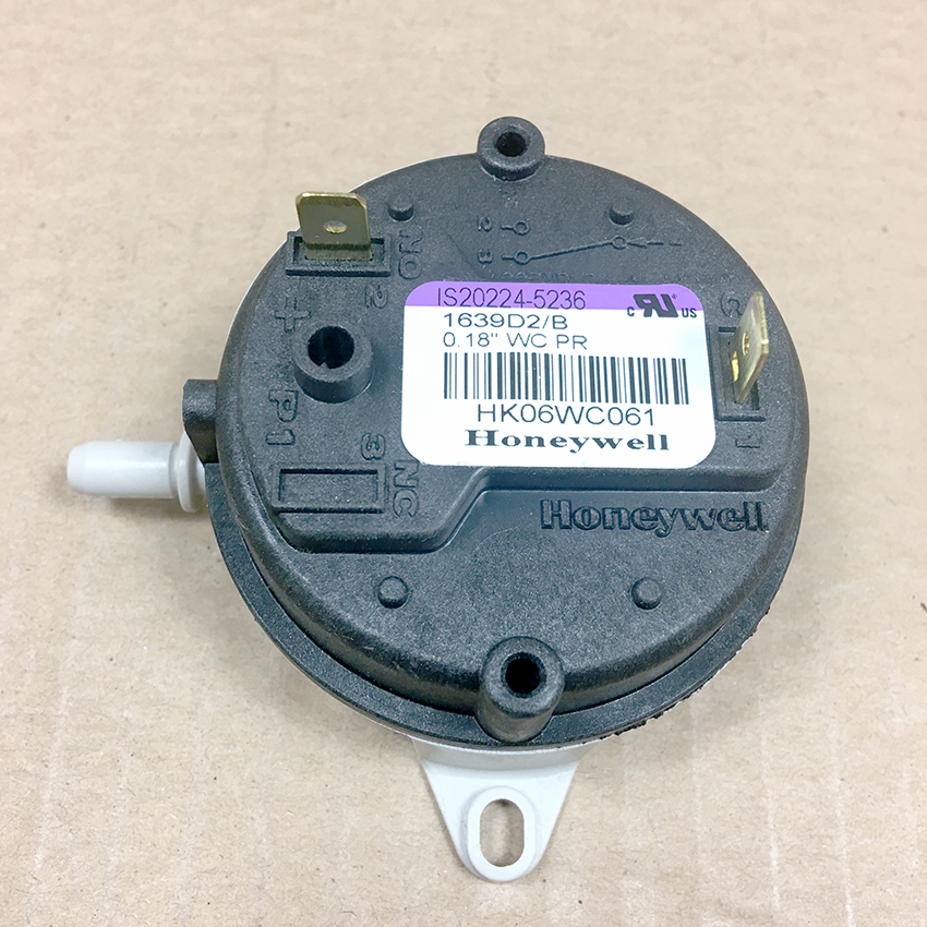 Carrier Draft Pressure Proving Pressure Switch HK06WC061