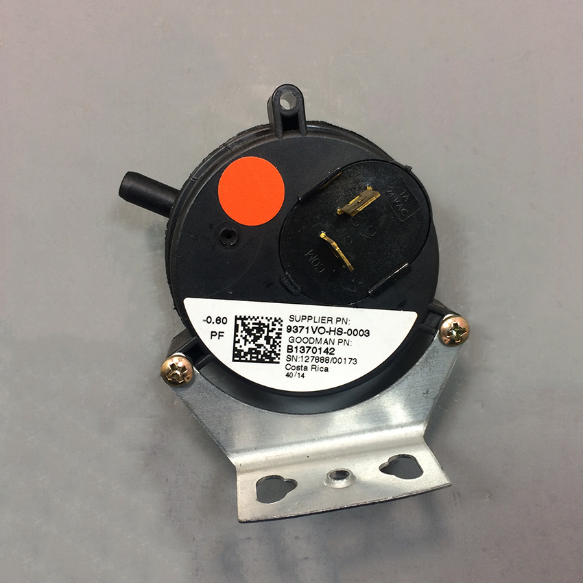 Goodman Pressure Switch 0130F00504