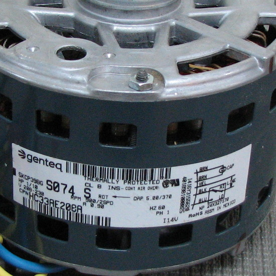 Carrier Blower Motor HC33ME224
