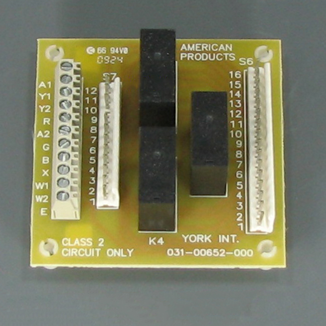 York Circuit Board S1-03100652000