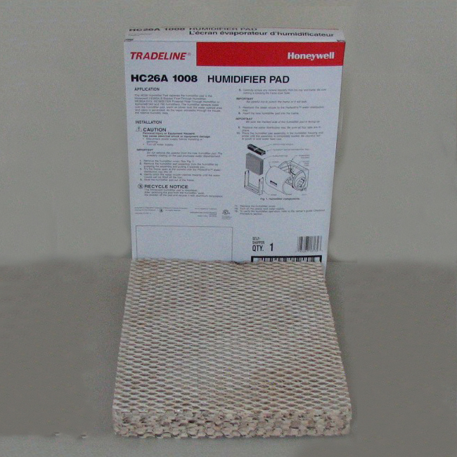 Honeywell HC26A1008 Humidifer Pad Pack of 2