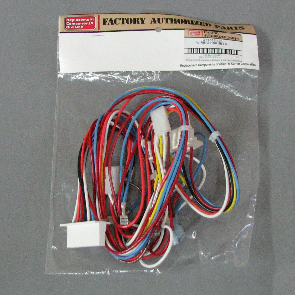 [SCHEMATICS_49CH]  Carrier Wiring Harness 311235-401 | Shortys HVAC Supplies | Furnace Wiring Harness |  | Shortys HVAC Supplies